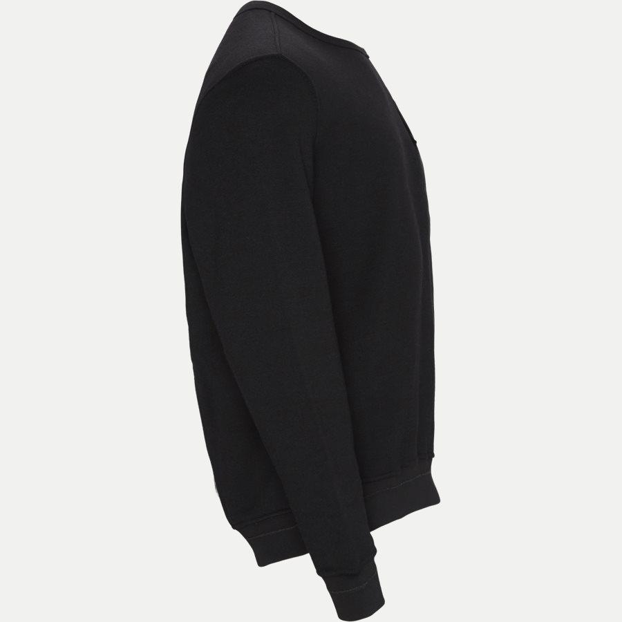 650F3 - 650F3 Ghost Piece Sweatshirt - Sweatshirts - Regular - SORT - 4