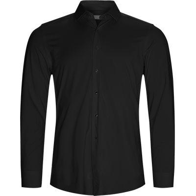 Tailored fit | Skjorter | Sort