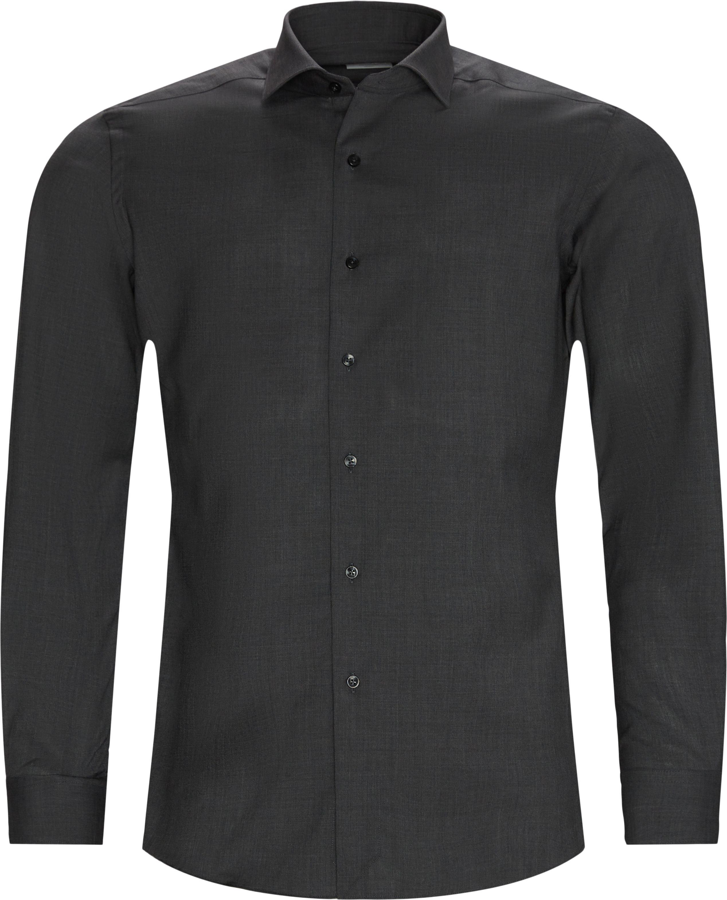 Skjorter - Tailored fit - Grå