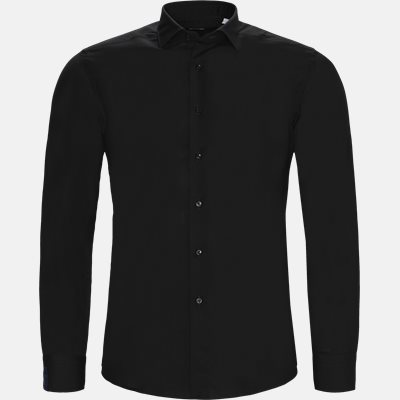 Tailored fit | Skjorter | Sort