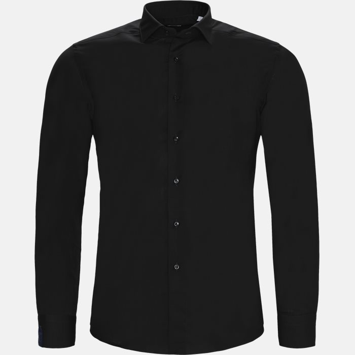 Shirts - Tailored fit - Black