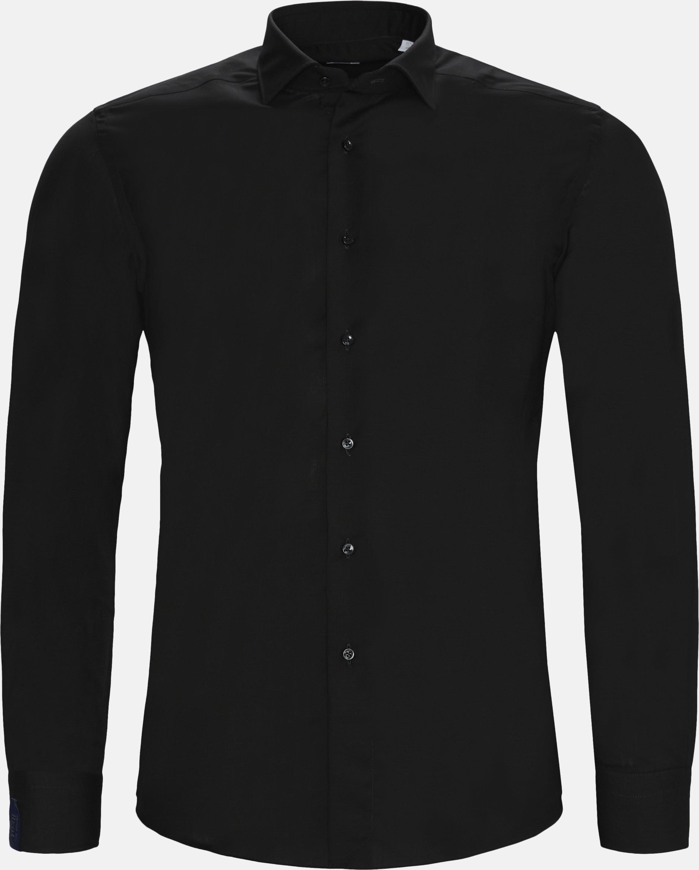 Skjorter - Tailored fit - Sort