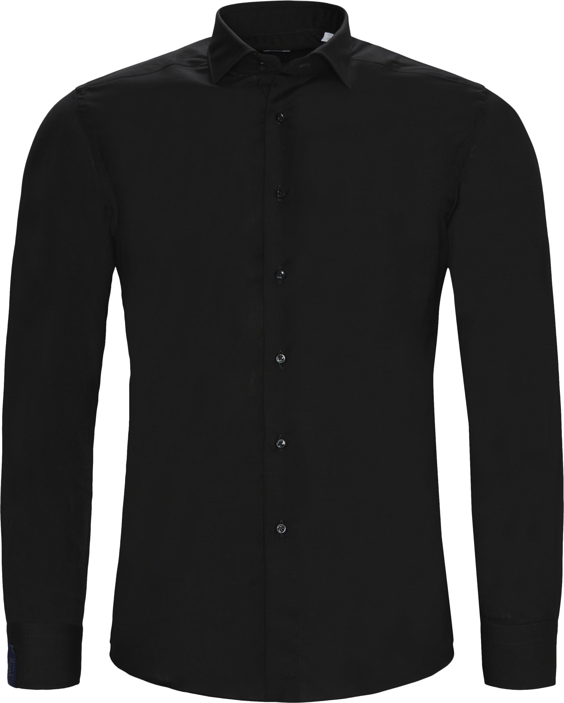 Skjorter - Contemporary fit - Sort