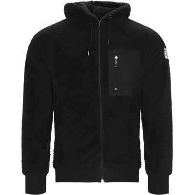 Coucy Zip Sweatshirt Regular | Coucy Zip Sweatshirt | Sort