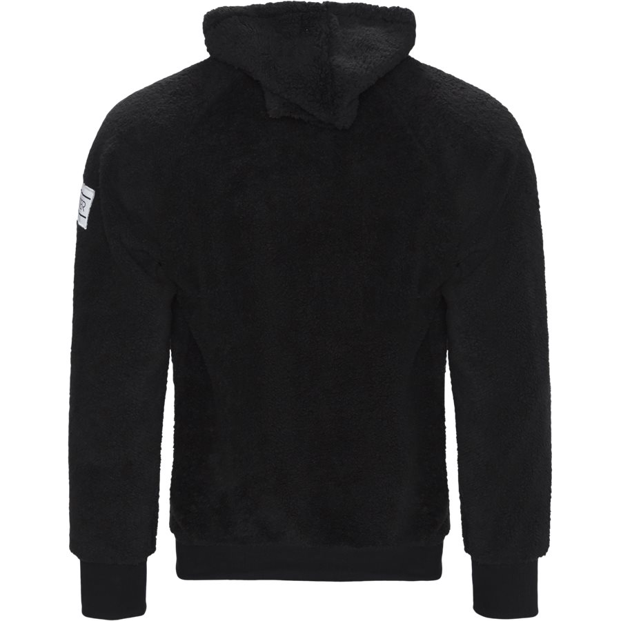 COUCY - Coucy Zip Sweatshirt - Sweatshirts - Regular - BLACK - 2