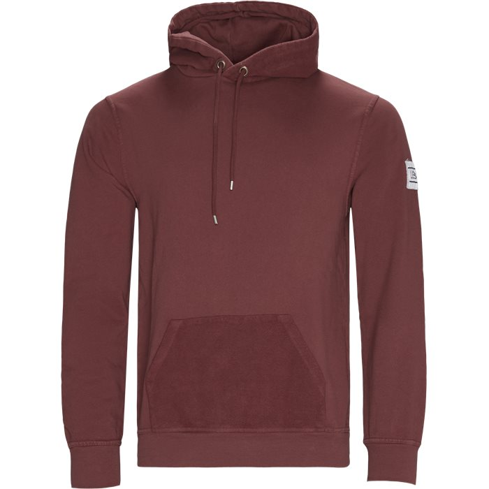 Borgo Hoodie - Sweatshirts - Regular - Bordeaux