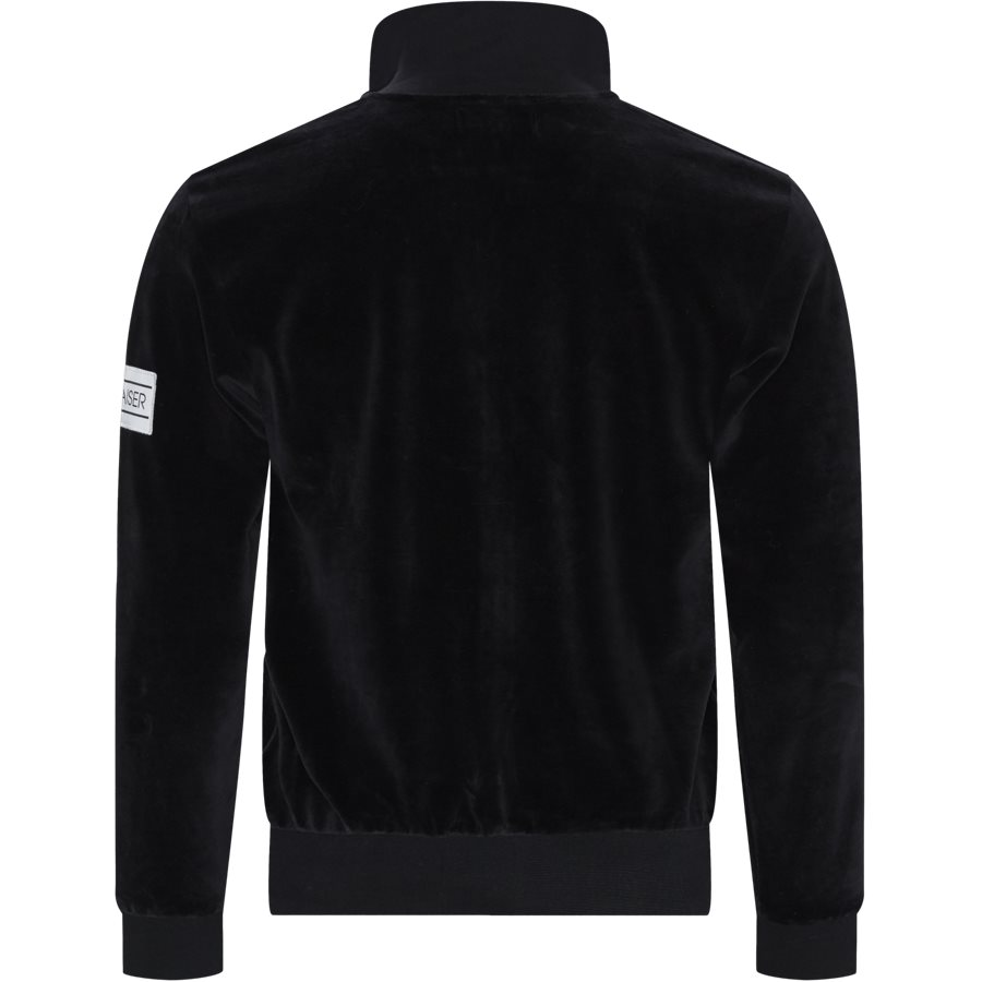 TAOS - Taos Zip Sweatshirt - Sweatshirts - Regular - BLACK - 2