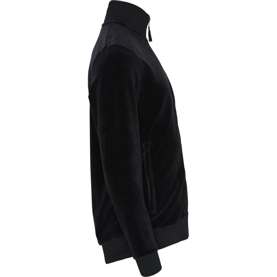 TAOS - Taos Zip Sweatshirt - Sweatshirts - Regular - BLACK - 3