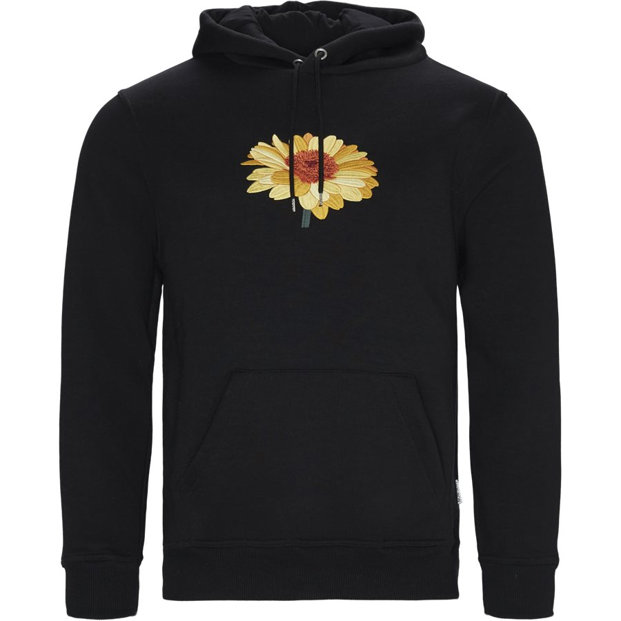 SUNFLOWER - Sunflower Hoodie - Sweatshirts - Regular - BLACK - 1