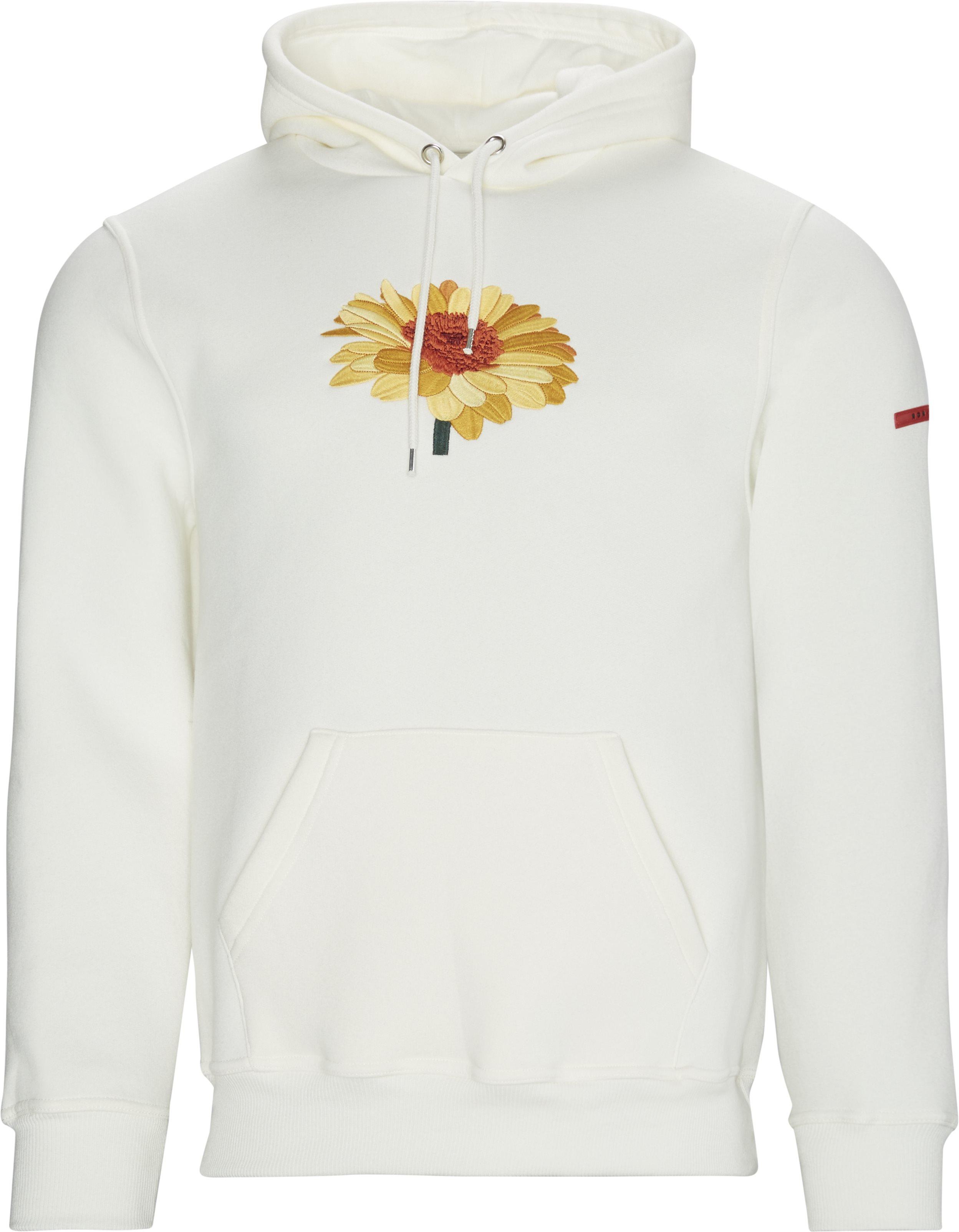 Sunflower Hoodie - Sweatshirts - Regular fit - Sand