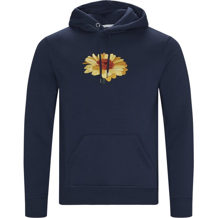Sunflower Hoodie - Sweatshirts - Regular - Blå