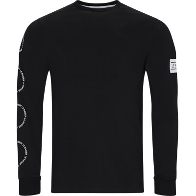 Lenz LS Tee Regular | Lenz LS Tee | Sort
