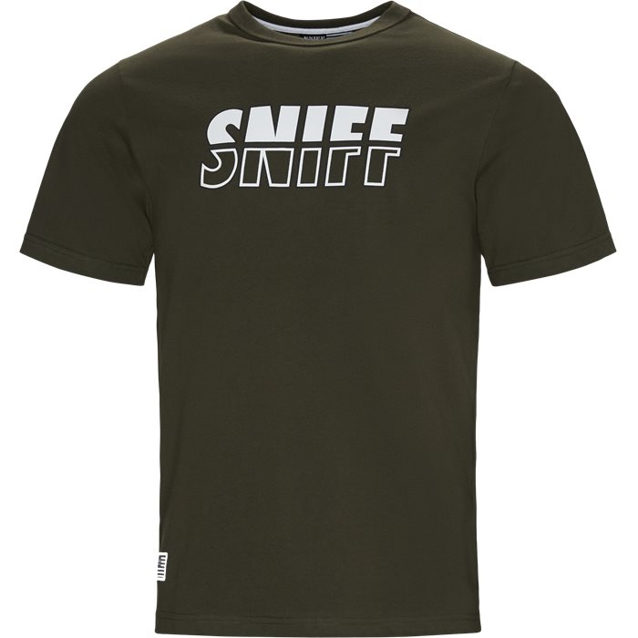 Counter Tee - T-shirts - Regular - Army