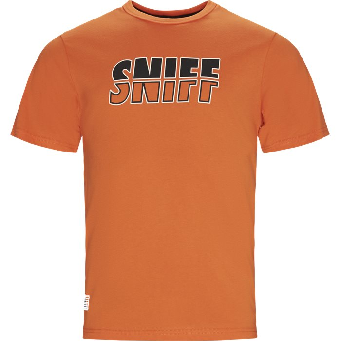 Counter Tee - T-shirts - Regular - Orange