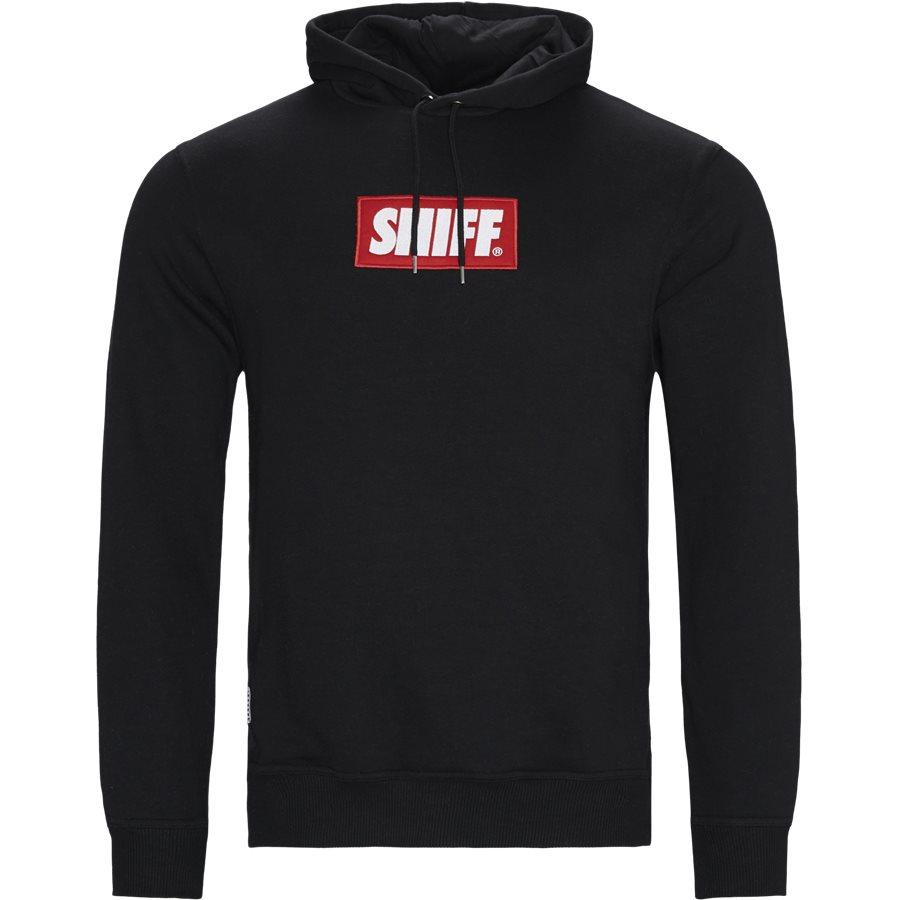 FORCE - Force Hoodie - Sweatshirts - Regular - BLACK - 1