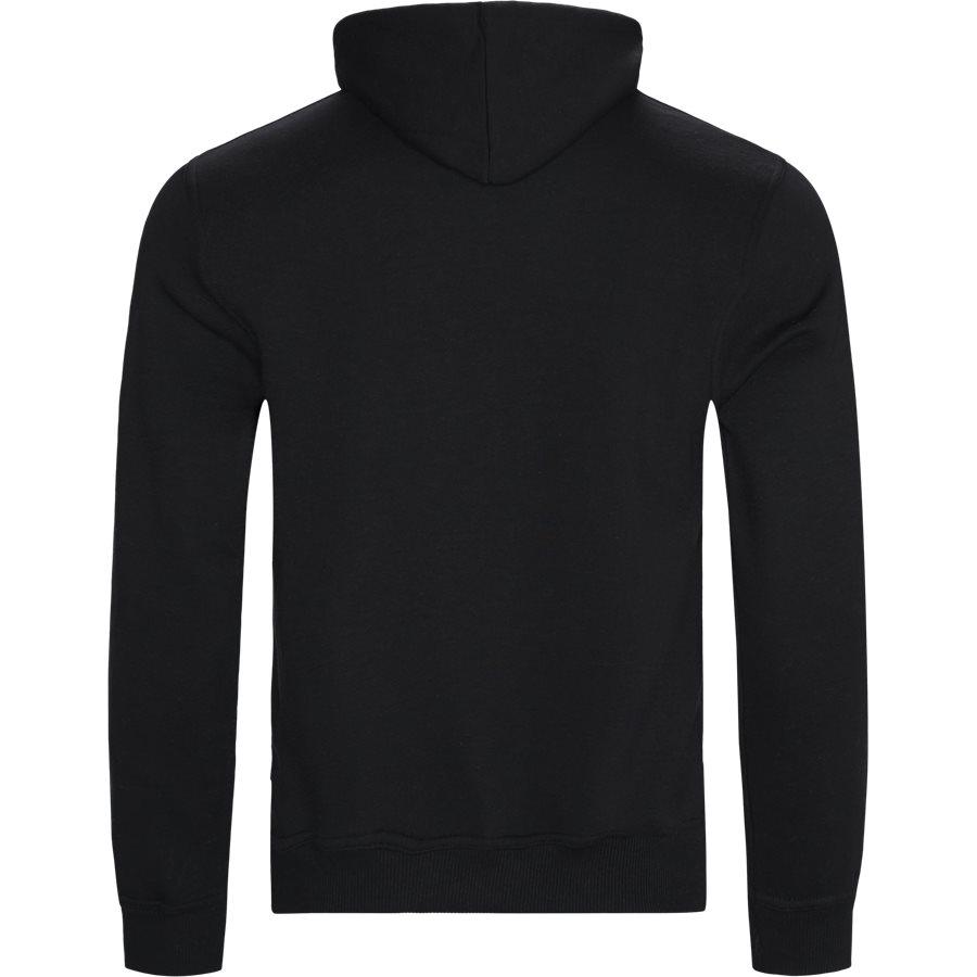 FORCE - Force Hoodie - Sweatshirts - Regular - BLACK - 2