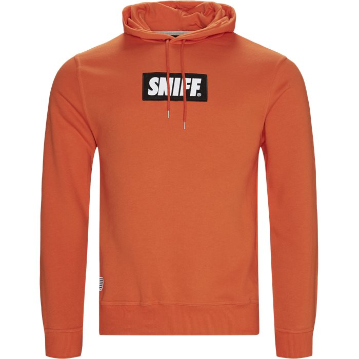 Force Hoodie - Sweatshirts - Regular - Orange