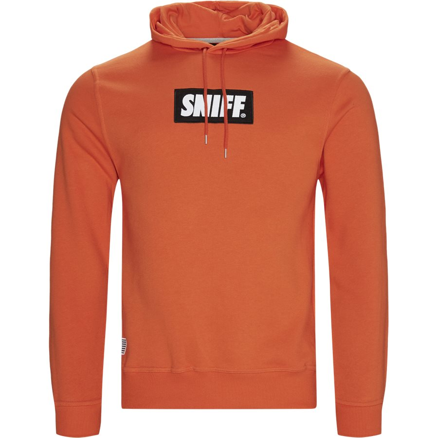 FORCE - Force Hoodie - Sweatshirts - Regular - ORANGE - 1