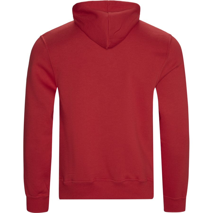 FORCE - Force Hoodie - Sweatshirts - Regular - RED - 2