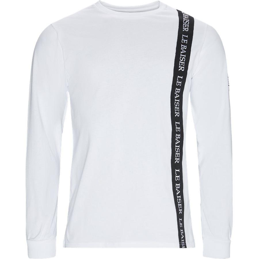 VILLAGE - Village LS Tee - T-shirts - WHITE - 1