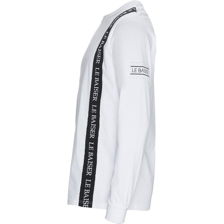 VILLAGE - Village LS Tee - T-shirts - WHITE - 3