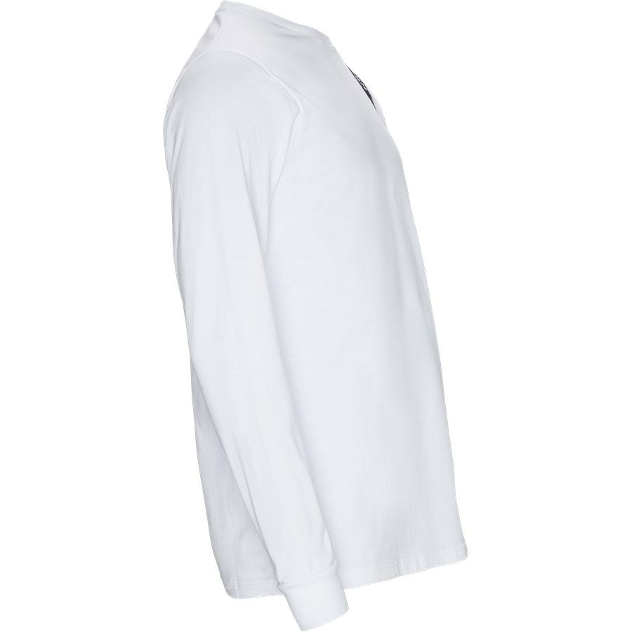 VILLAGE - Village LS Tee - T-shirts - WHITE - 4
