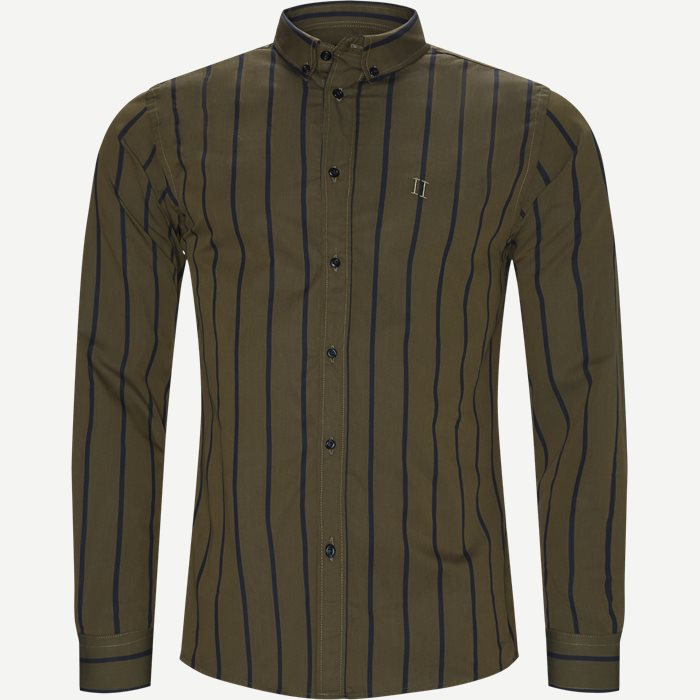 Smierre Buttondown Shirt - Skjorter - Slim - Army