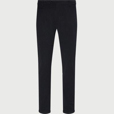 Como Pinstripe Suit Pants Slim | Como Pinstripe Suit Pants | Blå
