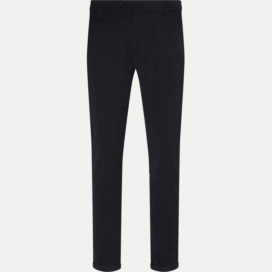 COMO PINSTRIPE SUIT PANTS LDM501002 - Como Pinstripe Suit Pants - Bukser - Slim - NAVY - 1