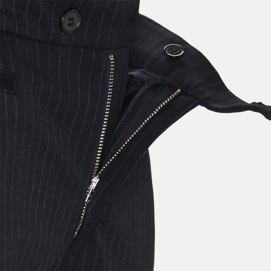 COMO PINSTRIPE SUIT PANTS LDM501002 - Como Pinstripe Suit Pants - Bukser - Slim - NAVY - 4