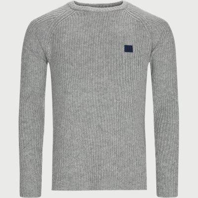 Piece Wool Knit  Regular | Piece Wool Knit  | Grå