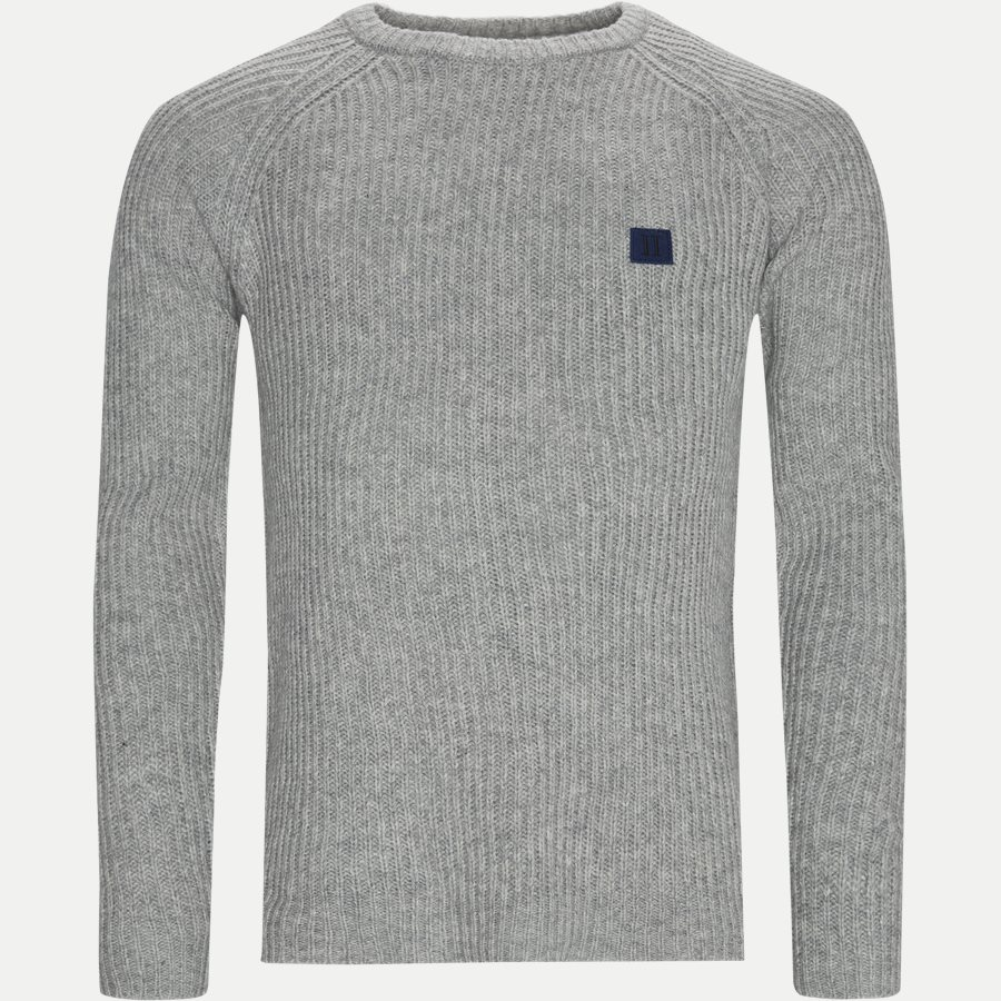PIECE WOOL KNIT LDM301024 - Piece Wool Knit  - Strik - Regular - GRÅ - 1