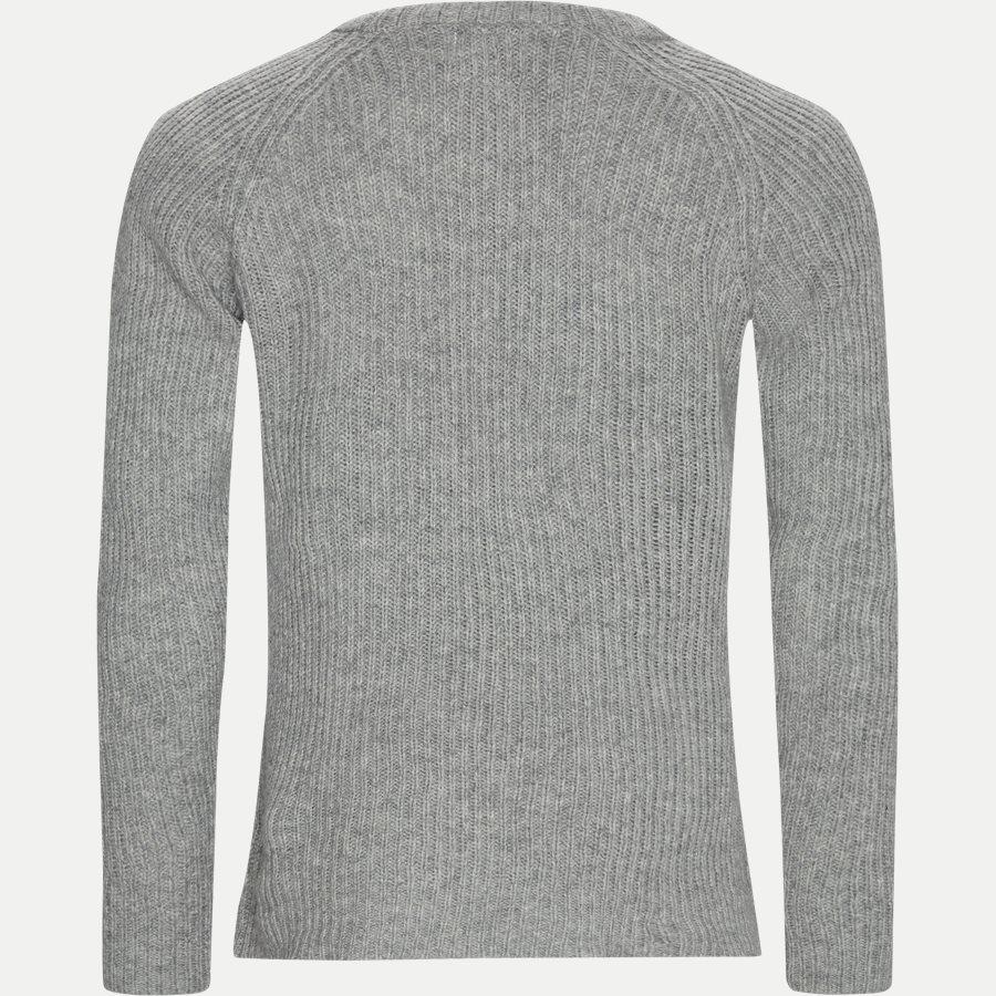 PIECE WOOL KNIT LDM301024 - Piece Wool Knit  - Strik - Regular - GRÅ - 2
