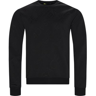 GTA7F2 Crewneck Sweatshirt Regular | GTA7F2 Crewneck Sweatshirt | Sort