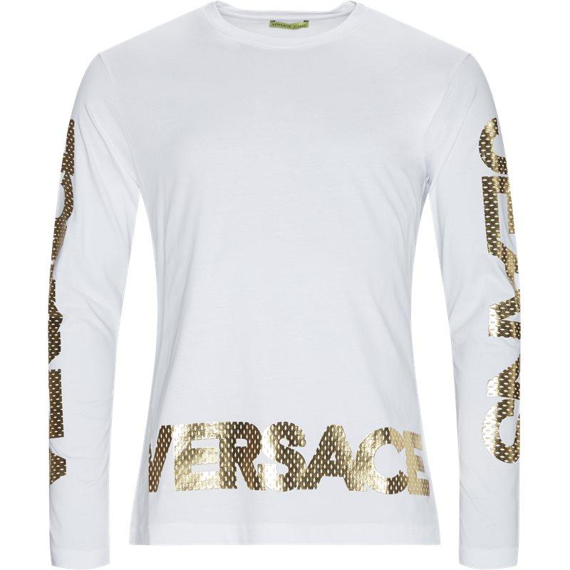 versace jeans – Versace jeans gta74f langærmet tee hvid fra quint.dk