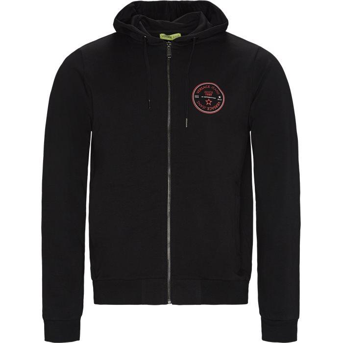 GTB7FO Zip Sweatshirt - Sweatshirts - Regular - Sort