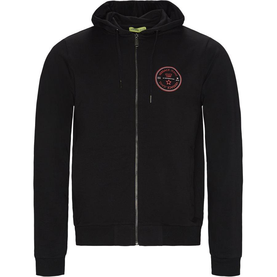 B7 GTB7FO 30189 899 - GTB7FO Zip Sweatshirt - Sweatshirts - Regular - SORT - 1