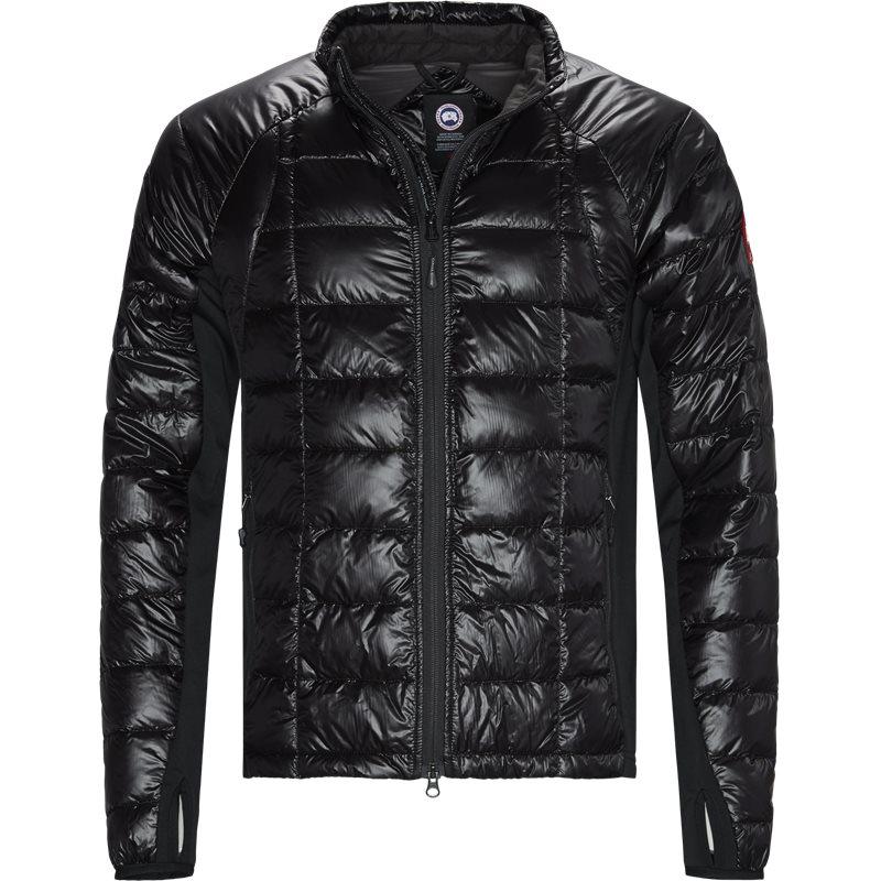 Canada goose regular fit 2701m hybridge lite jacket jakker sort fra canada goose på axel.dk
