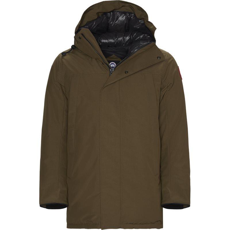 canada goose Canada goose regular fit 3400m sanford jakker oliven på axel.dk