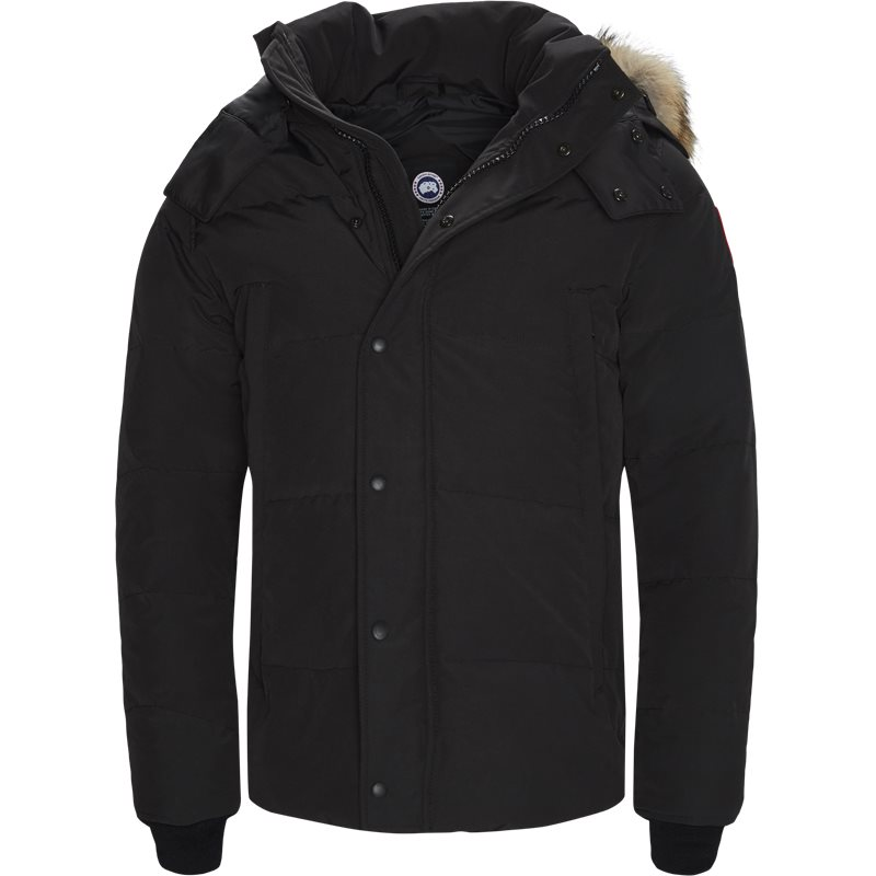 Image of   Canada Goose Regular fit 3808M WYNDHAM (BLACK) Jakker Sort