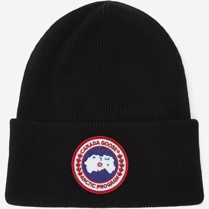Logo Beanie - Caps - Sort