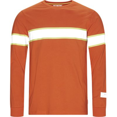 Jeppa LS Tee Regular | Jeppa LS Tee | Orange