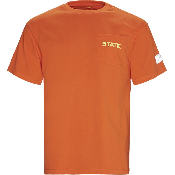 Jamalo Tee - T-shirts - Regular - Orange