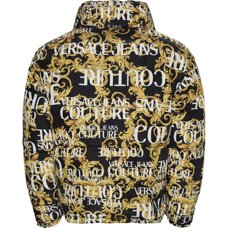 E5 GUA911 25055 899 - Print Sprous Barque Allov Jacket - Jakker - Regular - SORT - 2