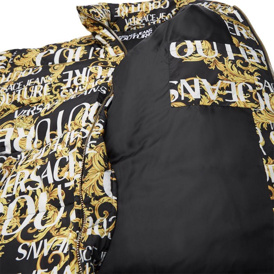 E5 GUA911 25055 899 - Print Sprous Barque Allov Jacket - Jakker - Regular - SORT - 7