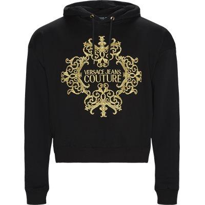 Baroque Embro Hoodie Regular | Baroque Embro Hoodie | Sort