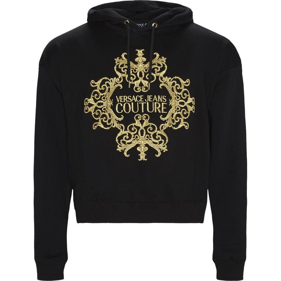 B7 GUA711 36604 Y6A - Baroque Embro Hoodie - Sweatshirts - Regular - SORT - 1