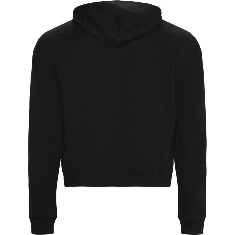 B7 GUA711 36604 Y6A - Baroque Embro Hoodie - Sweatshirts - Regular - SORT - 2