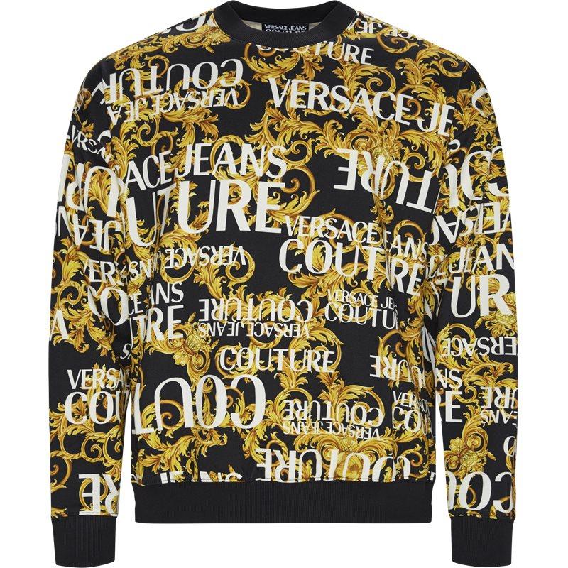 Image of   Versace Jeans Couture Gua7f5 Crewneck Sweatshirt Sort