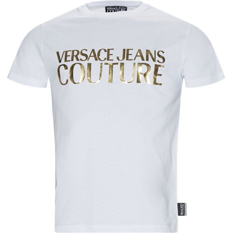 Versace jeans gua7tr tee hvid fra versace jeans på quint.dk